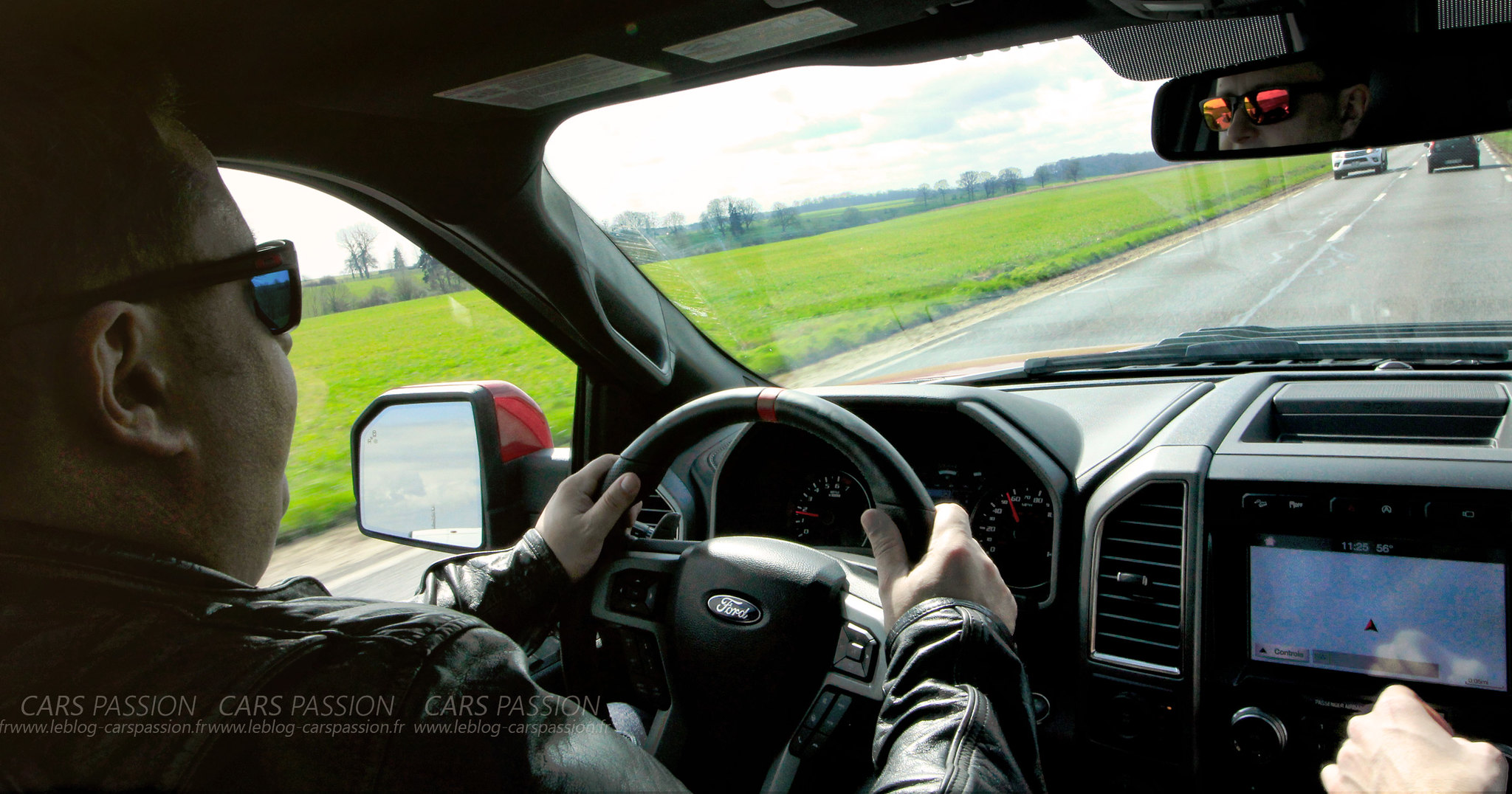 Essai du Ford Raptor F150 avec American Car City