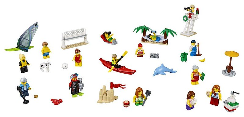 LEGO City Fun at the Beach (60153)