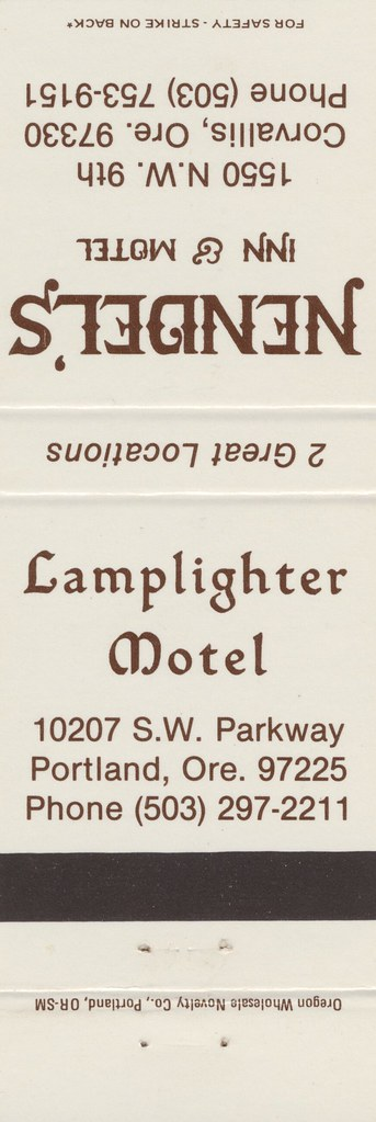 Lamplighter Motel - Portland, Oregon