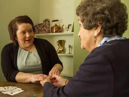 Fixer Kayleigh Duddin with her Grandma | by FixersUK