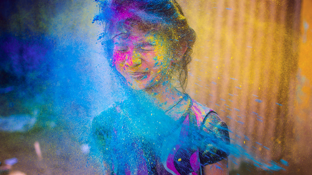"Featured Flickr photo ""Holi - Colour of all Hues"" by Karthi KN Raveendiran"