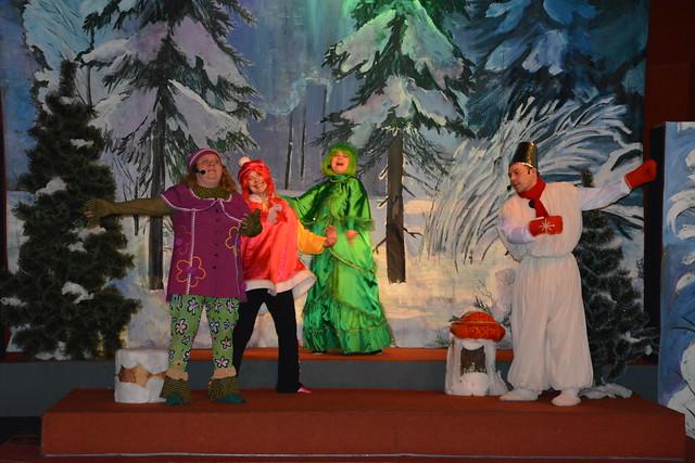 Приключения Снеговика и его друзей