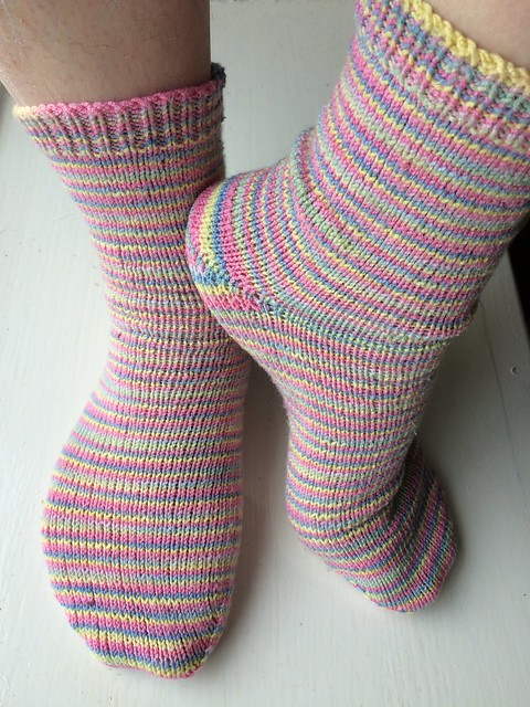 Pastel Stripe Socks