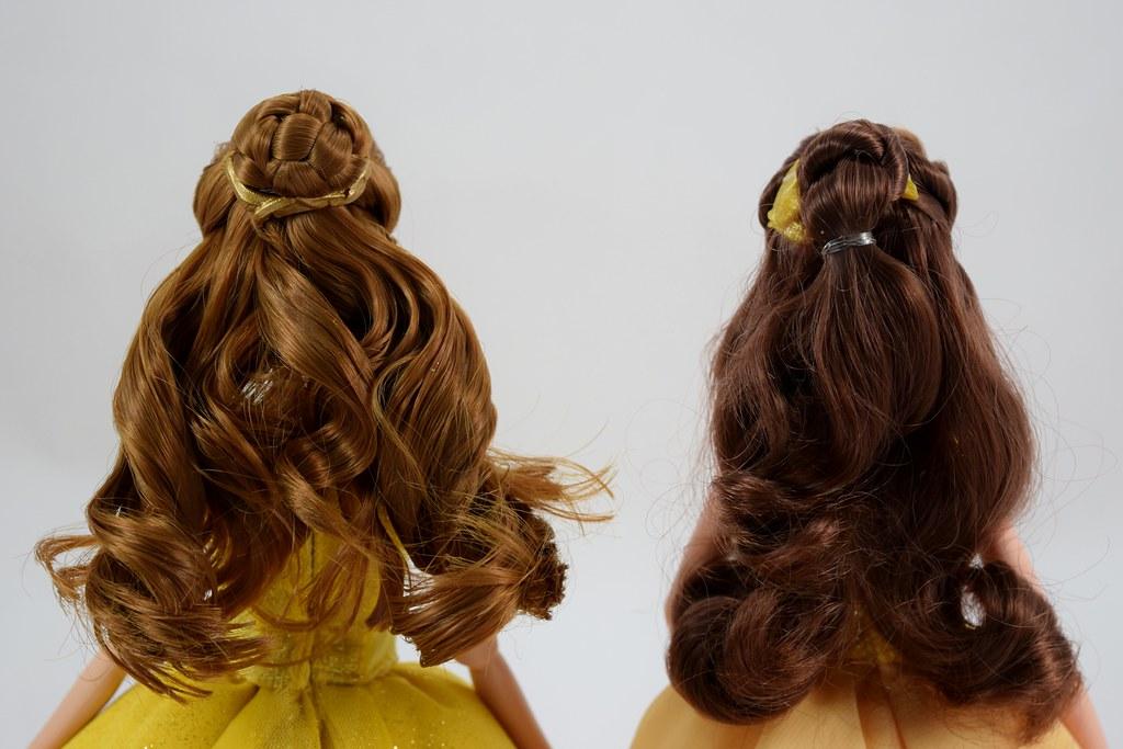 Disney Store Dfc Belle Vs Hasbro Enchanted Ball Gown Belle Flickr