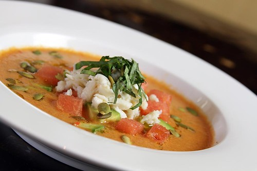 Watermelon Gazpacho | by thepalmshotel