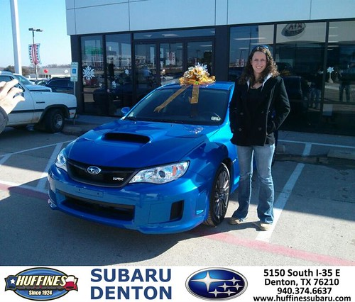 Thank You To Alexandria Peterson On Your New 2014 Subaru