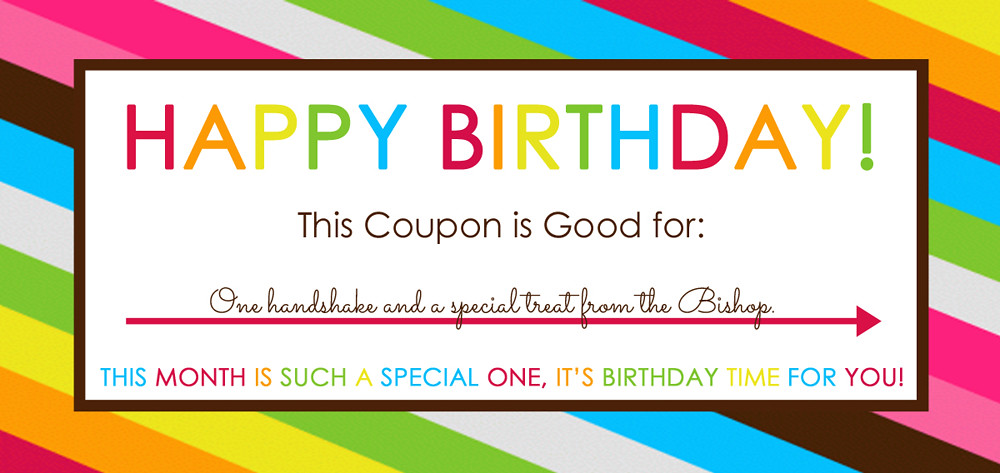 happy birthday bishop Lara – Birthday Coupon Templates Free Printable