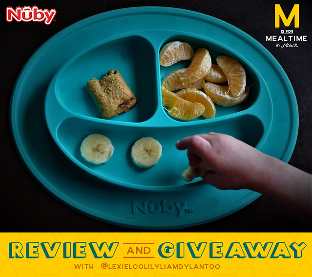 M is for Mealtime - Nuby Miracle Mat Review and Giveaway