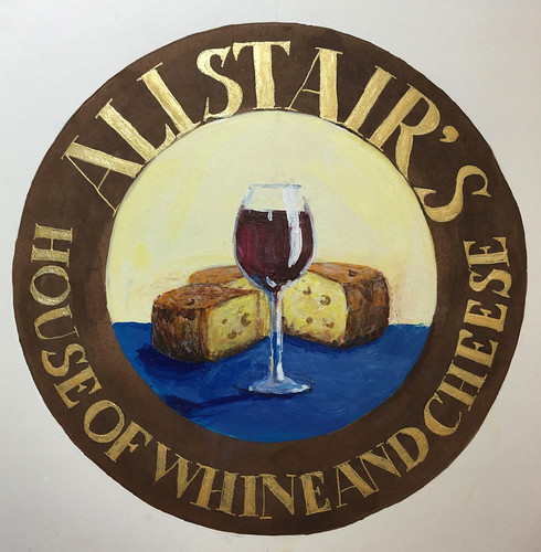 Alistairs Sign cleaned up