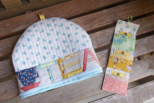Zakka Tea Cozy Set | by fabricmutt
