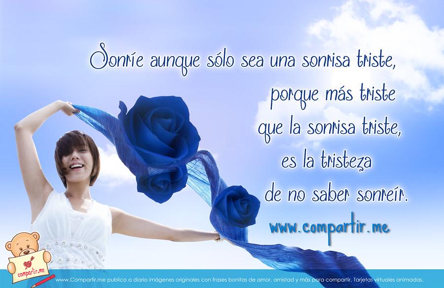Frases De Amor Nuevas Imagenes Con Frases De Sonreir Para Flickr