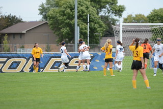 9-14-13 | WSOC vs. Concordia | by UWECblugolds