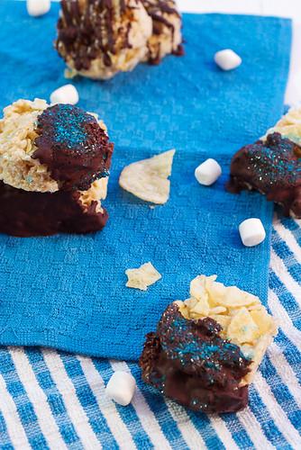 Chocolate Potato Chip Cake Recipe