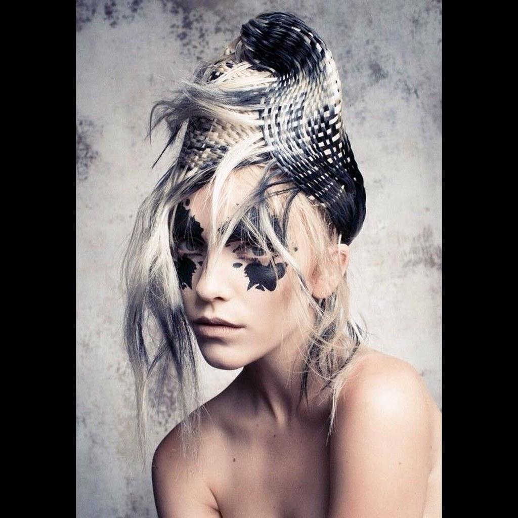 ArtistUnknown Avantgarde Hair Model Hairstyles Haircolor Haircut
