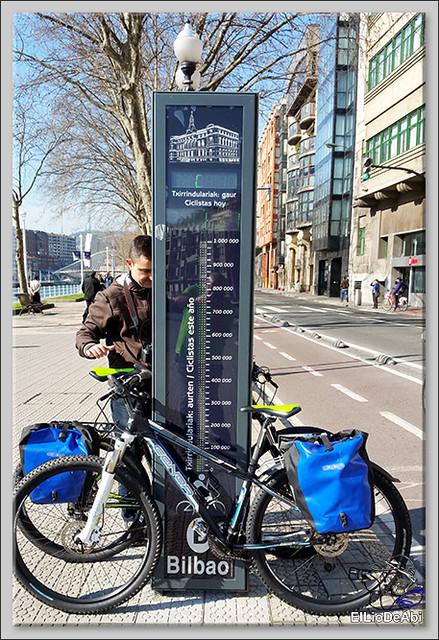 Camino de Santiago por Bilbao con Urban Bike 9