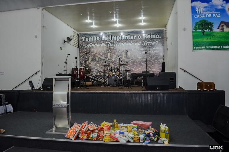 Nessa última quinta feira (02) o projeto Elefante Solidário entregou os alimentos arrecadados no último jogo do Linense contra a Ponte Preta para a Igreja Missão Apoio.