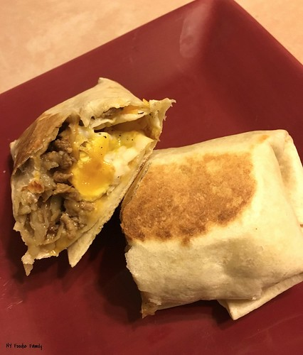 Turkey and Apple Hash Crispy Burritos