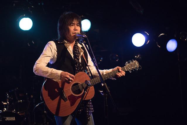Dannie B. Good solo live at La.mama, Tokyo, 13 Mar 2017 -00010