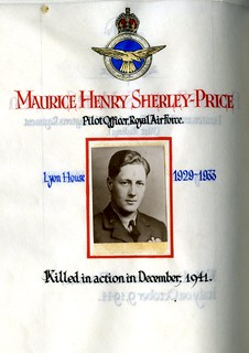 Sherley-Price, Maurice Henry (1915-1941) | by sherborneschoolarchives