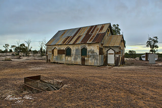Church HDR Lightning Ridge SML_02A8000 | by Firefly Photos Australia
