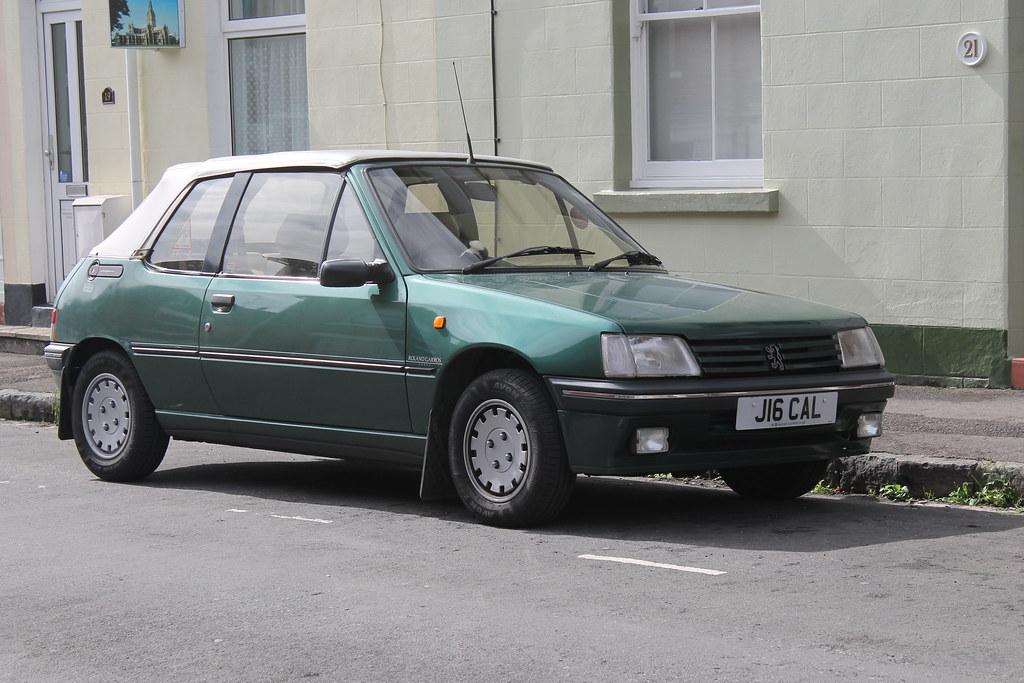 1991 peugeot 205 roland garros special edition convertible…   flickr