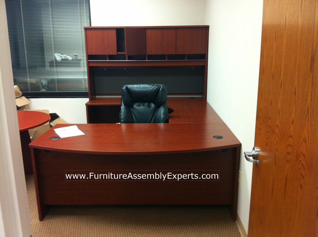 Etonnant ... Office Depot Executive Desk Installation Service In DC MD VA | By  Furniture Experts   DC