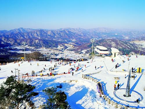 Bokwang Snow Park 보광 스노 경기장