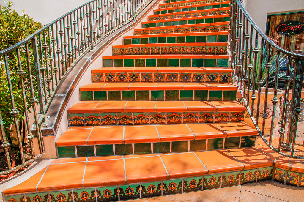 Delicieux ... SoCal Stairs  DSC1764  Ojai, CA | By Lance U0026 Cromwell Back