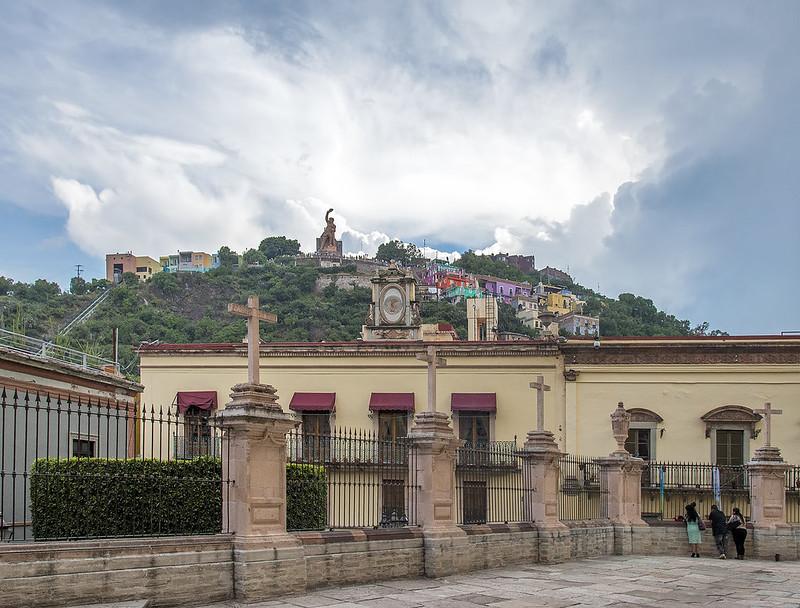 El Pipila from Guanajuato's most famous church