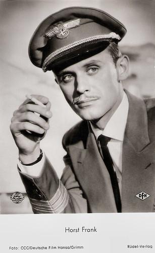 Horst Frank in Abschied von den Wolken (1959)