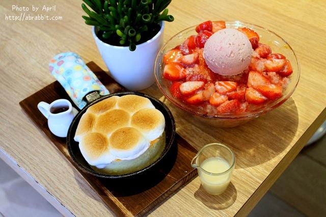 台中美食|法雅Faya Life ICE–草莓冰、棉花糖厚松饼好好吃@西屯区 福星路