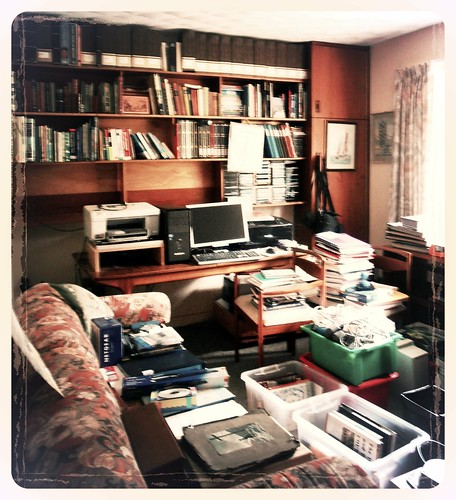deconstructing dad's study | by :: Wendy ::