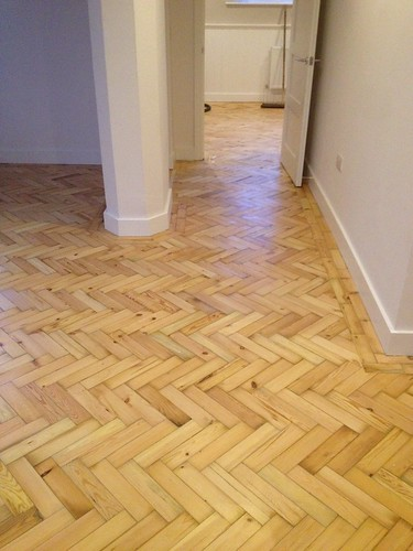 reclaimed pitch pine parquet flooring reclaimed pitch pine flickr. Black Bedroom Furniture Sets. Home Design Ideas