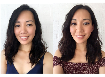 Korean Digital Perm for Medium Hair