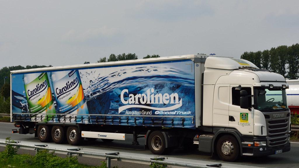 D - Essmann Getränke >Carolinen< Scania G09 440 HL | Flickr