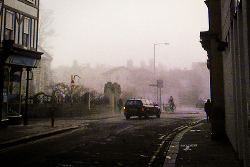 Buffering Cityscape
