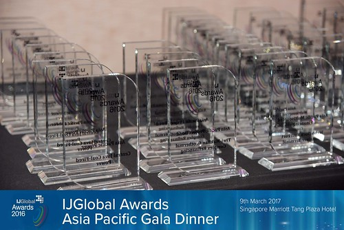 IJGlobal Awards Asia-Pacific Gala Dinner | 9 March 2017 | Singapore