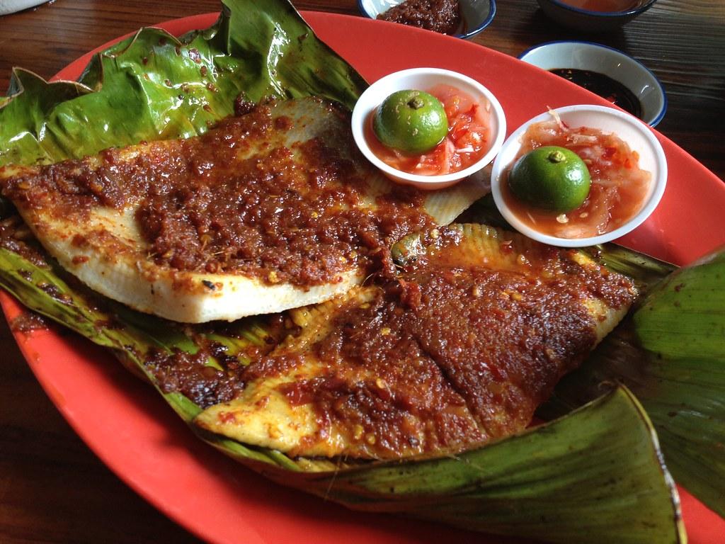 Rong Guang BBQ Seafood - sambal stingray