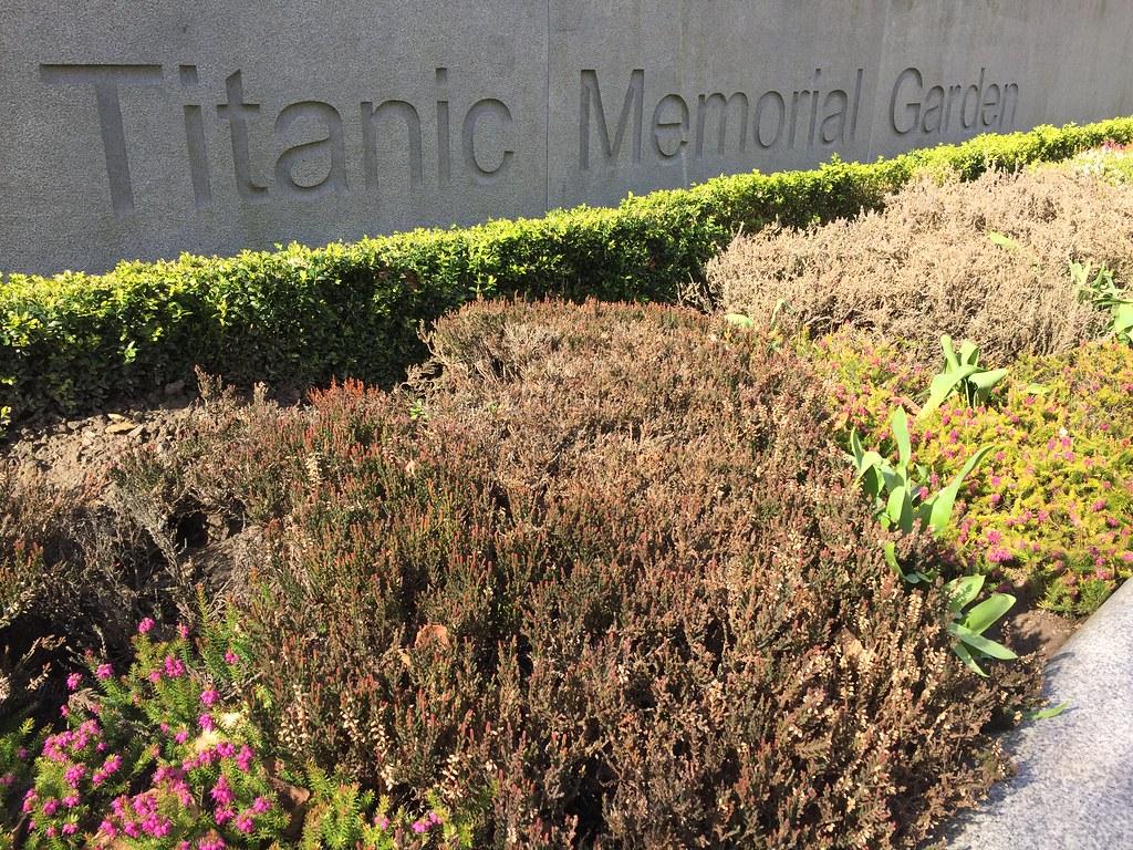 Titanic Memorial Garden at Belfast City Hall | John McDonald | Flickr