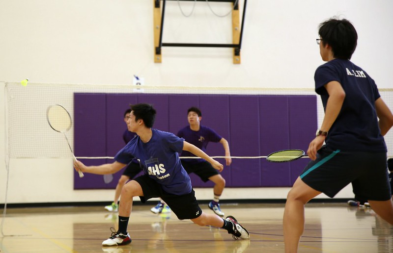 Badminton: MVHS vs Milpitas HS 3/15/17