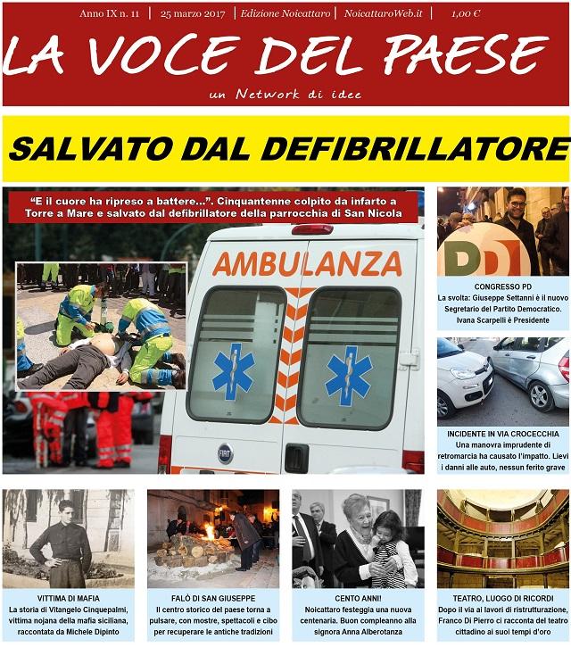 Noicattaro. Prima pagina n. 11-2017 intero