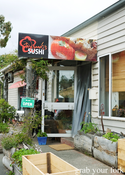 Masaaki's Sushi in Geeveston, Tasmania