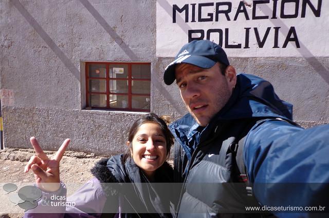 Salar do Uyuni - Bolivia (Dia 1)