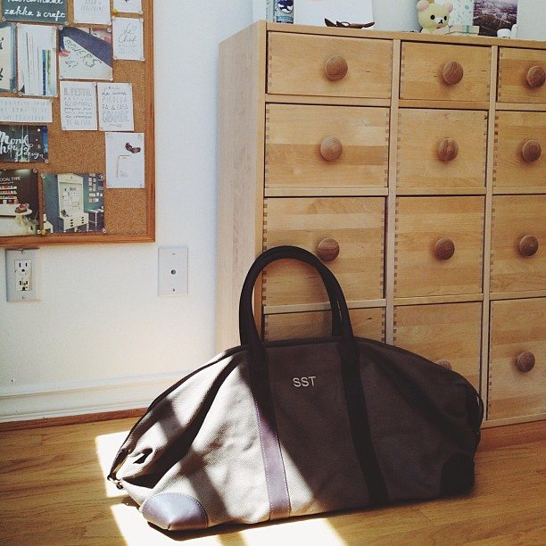 loving my new weekender bag from @cuyana. can't wait to us… | Flickr