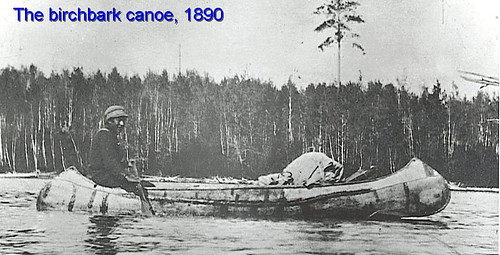 Hisotrical Birch Bark canoe | by Matawa First Nations Management