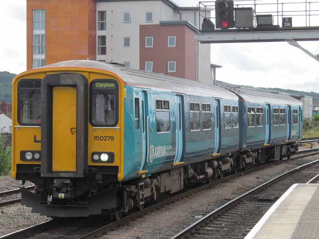 Arriva Trains Wales, 150279   Cardiff Central, 29 August 201…   Flickr