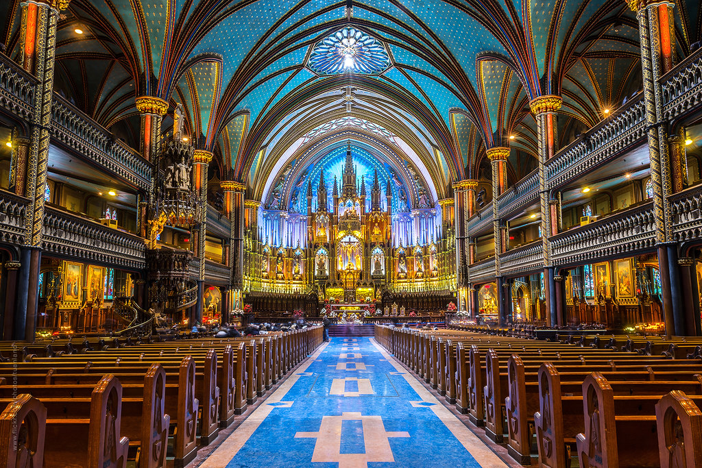 「notre-dame basilica of montreal」の画像検索結果
