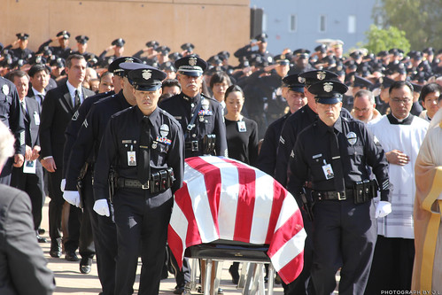 Lapd Officer Nicholas Lee Funeral Services Conclusion Of