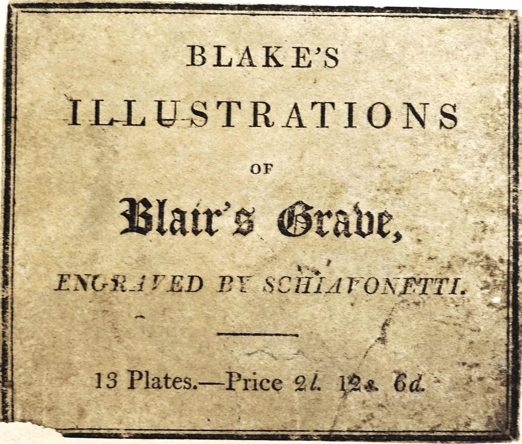 robert blair the grave