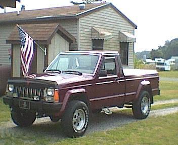 Jeep comanche specs
